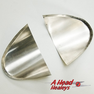 RADIATOR DEFLECTORS - RALLY -PAIR-
