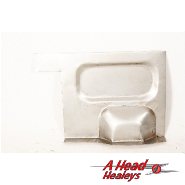 REAR HEEL BOARD-END PLATE - RH