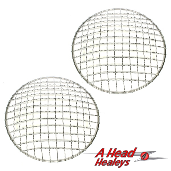 HEAD LAMP STONE GUARDS - PAIR
