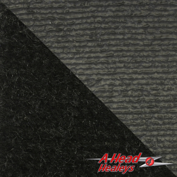 CARPET MATERIAL - BLACK -P-MTR- BEST QUALITY WOOL