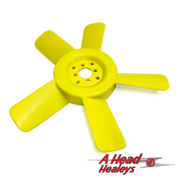 COOLING FAN - 5 BLADE PLASTIC -YELLOW-