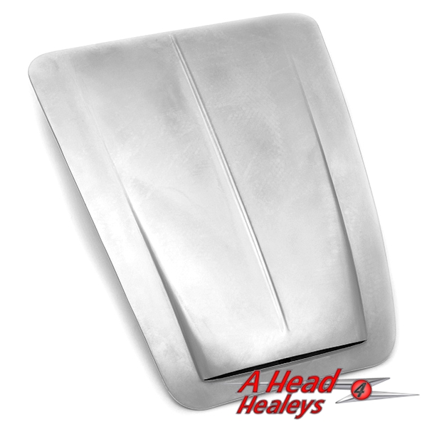 BONNET - ALUMINIUM -RIBBED-