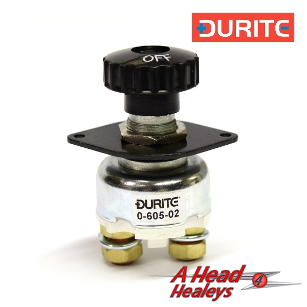 BATTERY MASTER SWITCH - DURITE