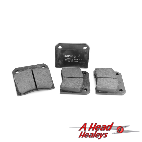 BRAKE PAD SET- REAR -ROAD-