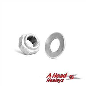 HEAVY DUTY PINION NUT AND WASHER