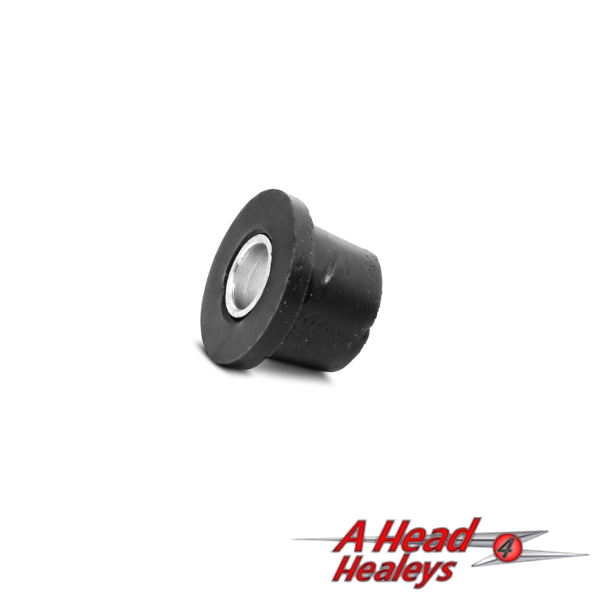 RUBBER BUSH - TOP TRUNNION -POLY- BLACK