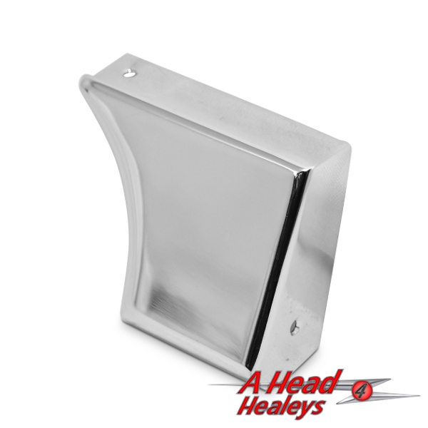 REAR SHROUD FINISHER - RH -CHROME-