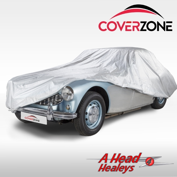 CAR COVER - TAILORED -IN-OUTDOOR- BREATHABLE -SILVER-