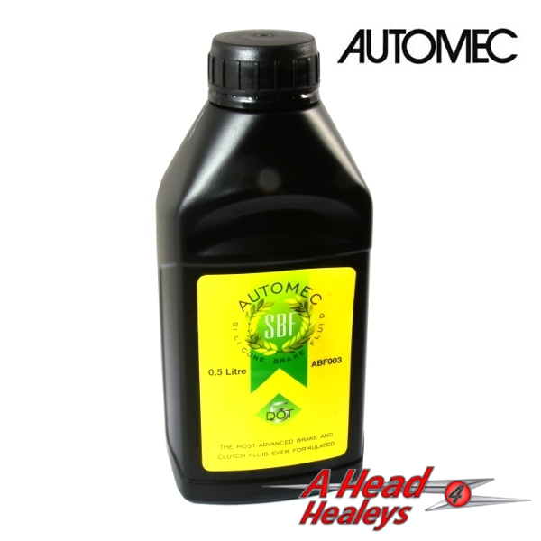 SILICONE BRAKE FLUID - AUTOMEC -1-2 LITRE- DOT 5