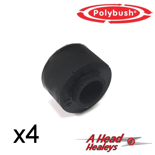 -BUSH SET - PANHARD ROD -POLYBUSH BLACK-