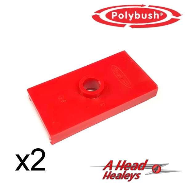 PAD SET - SEATING -POLYBUSH RED-