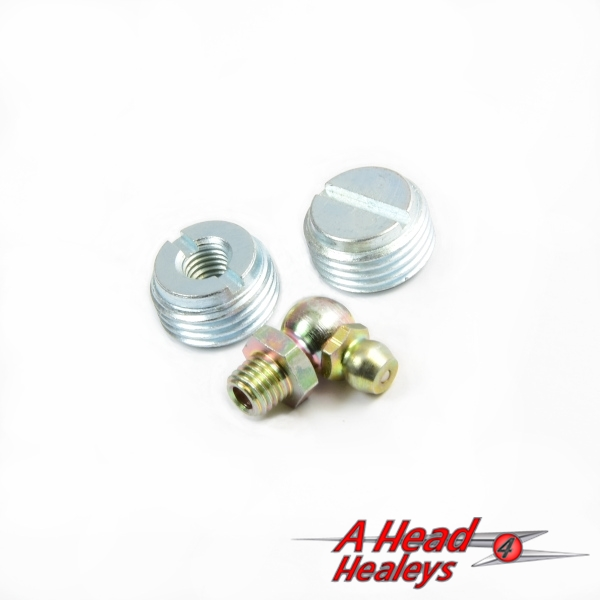 END PLUG SET -  PEDAL SHAFT - BRAKE - CLUTCH-