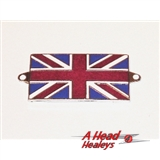 UNION JACK BADGE - ENAMEL -SCREW FIT-