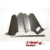 AIR INTAKE DEFLECTOR ASSY - RAD- -HORIZ- GRILLE-