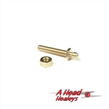 TENAX STUD - LONG THREAD 1IN - WITH NUT