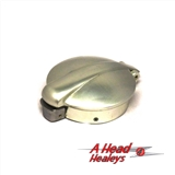 FUEL CAP - POLISHED ALUM--MONZA- 2-5IN