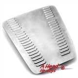 BONNET - ALUMINIUM -LOUVERED-