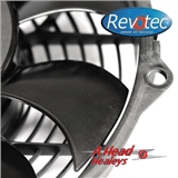 ELECTRIC FAN KIT - 9IN -REVOTEC- CROSS FLOW