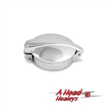 FUEL CAP - CHROME -MONZA- 2-5IN