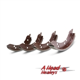 BRAKE SHOES - FRONT -SET-
