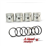 PISTON ASSY X 4 - STD