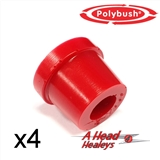 BUSH SET - TOP TRUNNION -POLYBUSH RED-