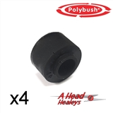 BUSH SET - A-R-B LINK -POLYBUSH BLACK- PER SIDE