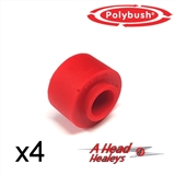 BUSH SET - A-R-B LINK -POLYBUSH RED- PER SIDE