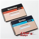 RESTORATION-SERVICE JOURNAL -HARD COVER-