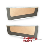 DOOR POCKETS - PAIR -UNTRIMMED-