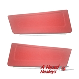 DOOR POCKETS - PAIR -RED-