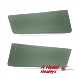 DOOR POCKETS - PAIR -GREEN-