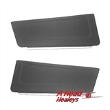 DOOR POCKETS - PAIR -BLACK-