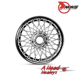 WIRE WHEEL - 72 SPOKE - CHROME -5IN-