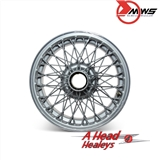 WIRE WHEEL - 72 SPOKE PAINTED -4-5IN-